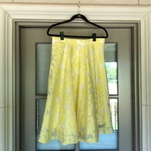 Yellow Party Skirt